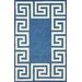 <strong>Filigree Blue Santorini Rug</strong> by nuLOOM