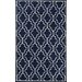 <strong>Venice Dark Blue Strodar Rug</strong> by nuLOOM