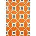 <strong>Barcelona Deep Orange Gabriela Rug</strong> by nuLOOM