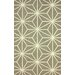 <strong>Barcelona Taupe Star Rug</strong> by nuLOOM