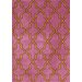 <strong>Block Island Pink Gretel Faux Rug</strong> by nuLOOM
