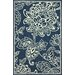 <strong>Block Island Blue Cassandra Rug</strong> by nuLOOM