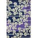 Europe Blue/White Filigree Area Rug by nuLOOM
