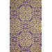 <strong>Vista Purple Lahoma Rug</strong> by nuLOOM