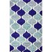 <strong>Modella Blue Rharan Rug</strong> by nuLOOM