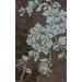 <strong>Cine Taylor Choc/Sky Blue Rug</strong> by nuLOOM