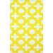 <strong>Cine Yellow Leah Trellis Rug</strong> by nuLOOM