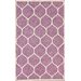 <strong>Flatweave Lavender Arbor Rug</strong> by nuLOOM