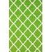 <strong>Veranda Green Filigree Outdoor Rug</strong> by nuLOOM