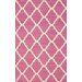 <strong>Moderna Pink Trellis Rug</strong> by nuLOOM