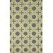 nuLOOM Homestead Purple/Green Nala Geometric Area Rug