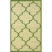 Villa Outdoor Green Double Trellis Rug