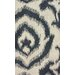 <strong>Tulon Dark Grey Lotus Rug</strong> by nuLOOM