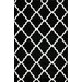 <strong>Shag Black Trellis Rug</strong> by nuLOOM