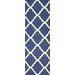 <strong>Moderna Deep Blue Trellis Rug</strong> by nuLOOM