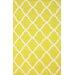 nuLOOM Moderna Yellow Trellis Area Rug