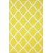 <strong>Moderna Yellow Trellis Rug</strong> by nuLOOM