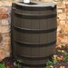 Good Ideas Rain Wizard 40 Gallon Rain Barrel with Darkened Ribs