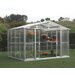 <strong>Duramax Building Products</strong> 7.0' H x 10.5' W x 8.0' D Polycarbonate Greenhouse