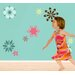 Fabulous Flowers Self-Adhesive Wall Stencil Kit