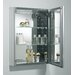 "Kohler 20"" x 26"" Medicine Cabinet with Decorative Silver Trim"