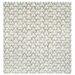 Gandia Blasco Hand Knotted Room White Geometric Area Rug