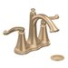 <strong>Savvy Centerset Bathroom Faucet with Double Lever Handles</strong> by Moen