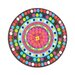 "<strong>Bindi 15.5"" Round Serving Platter</strong> by French Bull"