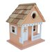 <strong>Home Bazaar</strong> Beachcomber Starfish Cottage Hanging Birdhouse