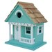 <strong>Home Bazaar</strong> Beachcomber Sea Horse Cottage Hanging Birdhouse