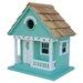 Beachcomber Sea Horse Cottage Hanging Birdhouse