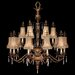 Fine Art Lamps Pastiche 16 Light Chandelier