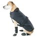 <strong>Muttluks</strong> Belted Dog Coat in Black