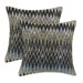 <strong>Epic Smoke Fiber Pillow (Set of 2)</strong> by Chooty & Co