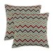 <strong>Chooty & Co</strong> Zoom Zoom Denton Fiber Pillow (Set of 2)