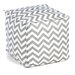 Chooty & Co Zig Zag Beads Hassock Ottoman