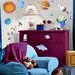 Room Mates Studio Designs 35 Piece Outer Space Wall Decal Set