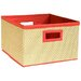 <strong>Links Storage Baskets in Red (Set of 3)</strong> by Alaterre