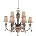<strong>Ashton Court 9 Light Chandelier with Optional Ceiling Medallion</strong> by Minka Lavery