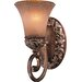 Jessica McClintock Salon Grand  Vanity Light Wall Sconce in Florence Patina