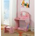 "InRoom Designs 24"" Kids Desk with Stool"