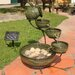 <strong>Solar Water Features Ceramic Fountain</strong> by Smart Solar