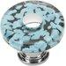 "Atlas Homewares Glass Marine 1.5"" Round Knob"