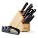 Gourmet 12 Piece Knife Block Set