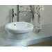 Traffic Bernia Bathroom Sink in White