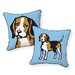 <strong>Beagle Pillow</strong> by Naked Decor