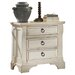 American Woodcrafters Carlisle 3-Drawer Nightstand