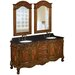 "<strong>Belle Foret</strong> 73"" Double Basin Sink Vanity Set"
