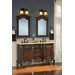 """<strong>60"""" Double Vanity Set</strong> by Belle Foret"""