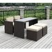 <strong>Handy Living</strong> 5 Piece Dining Seating Group with Cushion